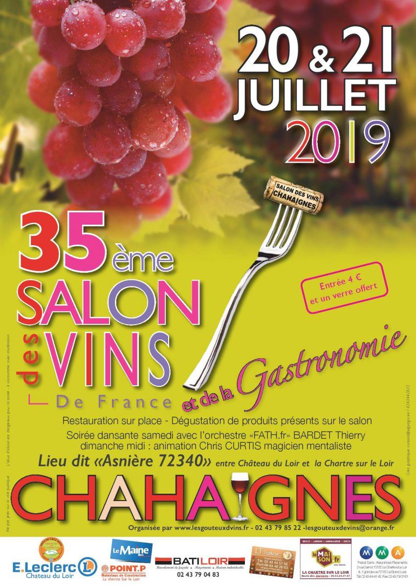 Salon Vins Gastronomie Chahaignes