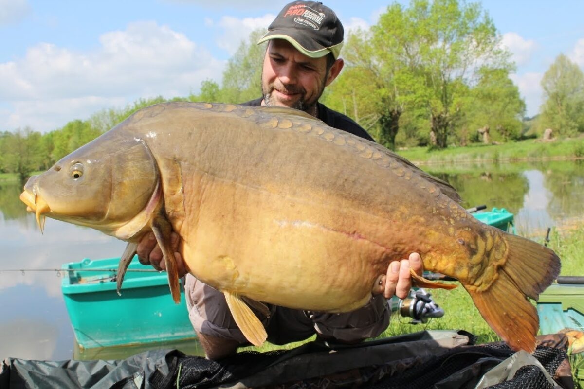 Pêche grand étang Asnière